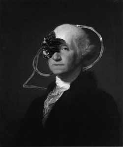 Want to find out way we included a picture a of cyborg George Washington? Read Edits.