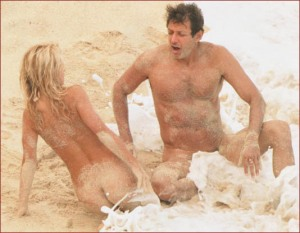 Jeff Goldblum (right) ruling Television.