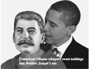 What the hell would make us Photoshop Joseph Stalin's head onto Michelle Obama's body?! Guess you'll just have to read and find out...