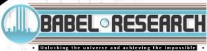 The Babel Research logo, the tower a reference to the biblical story, most likely having something to do with the Half-life storyline.