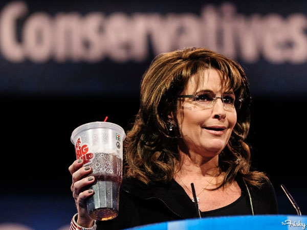 Can't be so terrible if Sarah Palin drinks them, amiright?