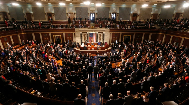 The 113th Congress convenes in Washington