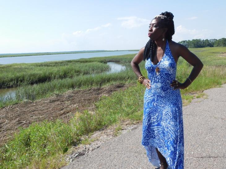 Queen Quet at Marsh